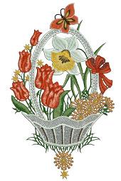 Fensterbilder Frühling Ostern