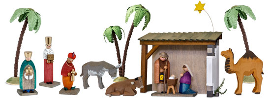 Reichel Nativity scene