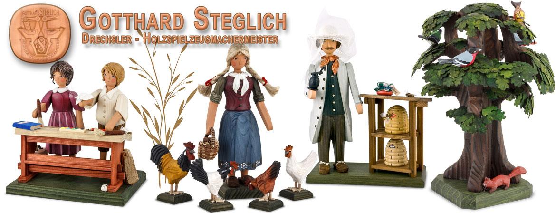 Gotthard Steglich Figures