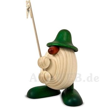 Eierkopf Willi Zettelhalter grün