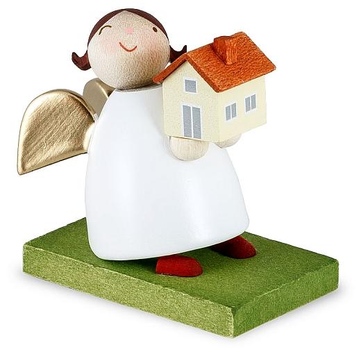 Schutzengel mit Haus