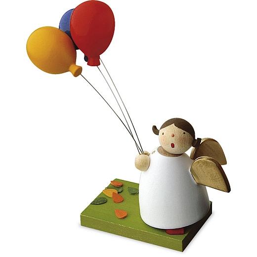 Schutzengel mit 3 Luftballons