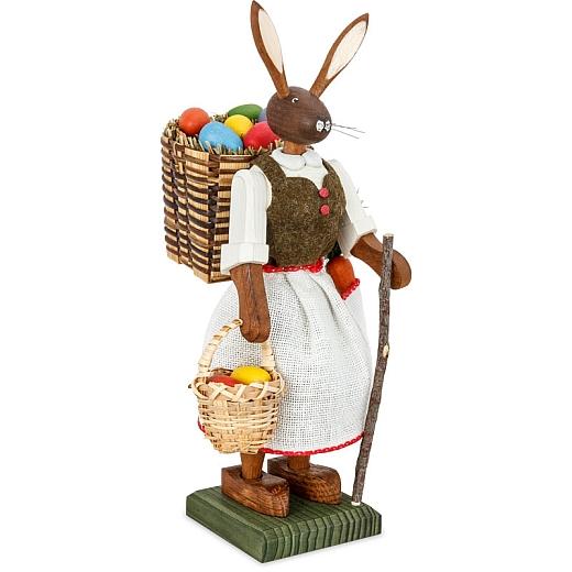 Osterhasenfrau