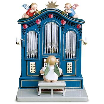 Orgel mit Musik