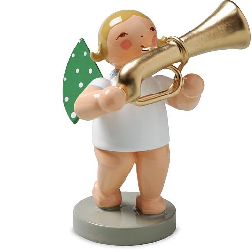 Engel mit Basstrompete