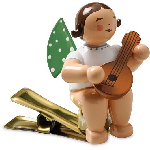 Engel mit Mandoline auf Klemme