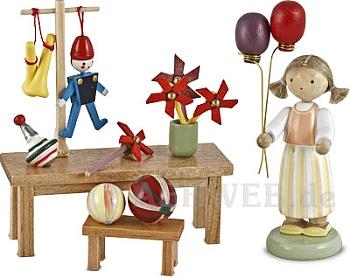 Spielzeughändlerin