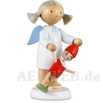 Engel mit Pinocchio