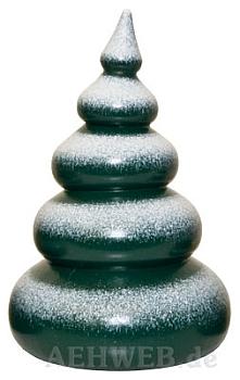 Baum mit Schnee 5-stufig lackiert
