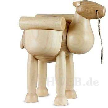 Kamel stehend mit Gepäck