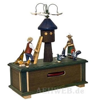 Spieldose Taubenhaus