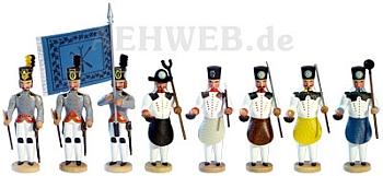 Historische Bergparade - Hüttenleute