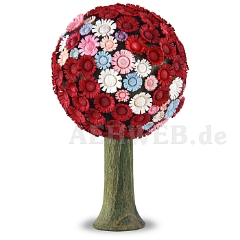 Blütenbaum rot/pastellfarben