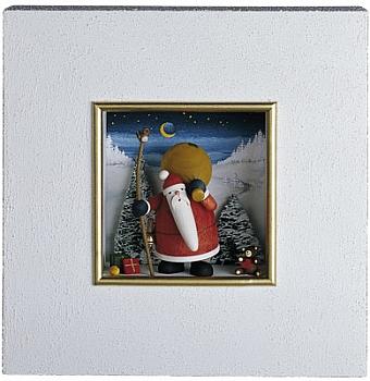 Wandbild - Weihnachtsmann