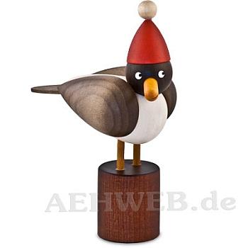 Weihnachtsmöwe klein grau