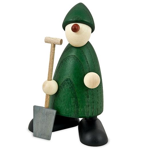 Gratulant Hans mit Spaten grün