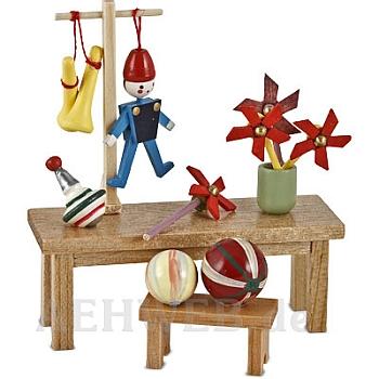 Spielzeugstand ohne Verkäuferin