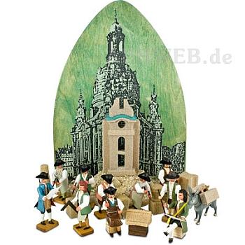 Erbauung der Frauenkirche zu Dresden