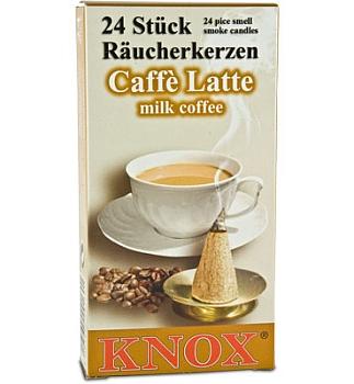 Räucherkerzen Kaffee Latte