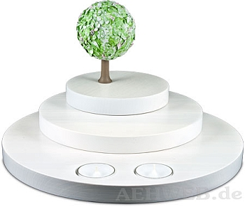 stufenberg mit apfelbaum fr hling von flade. Black Bedroom Furniture Sets. Home Design Ideas