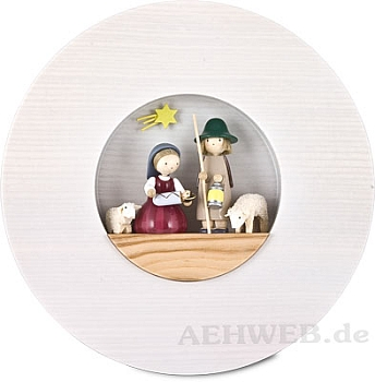 "Figurenbild ""Heilige Familie"""