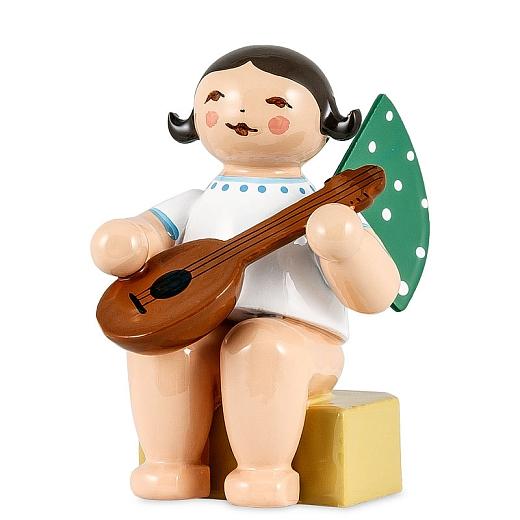 Engel klein mit Mandoline