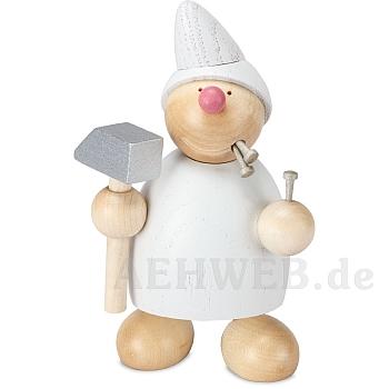 WICHT mit Hammer und Nägeln weiß