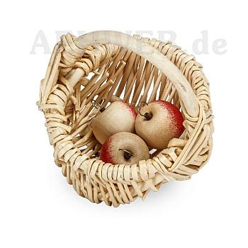 Korb mit 3 Äpfeln