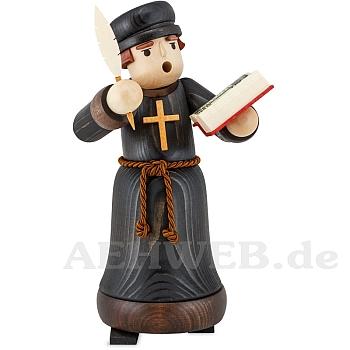 Räuchermann Luther mit Bibel gebeizt