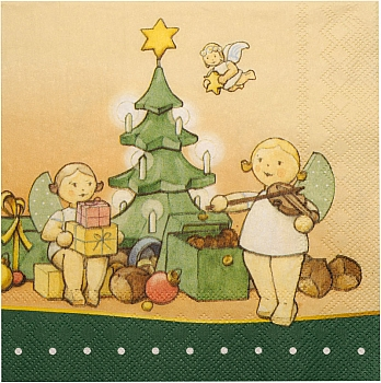 Serviette Wendt & Kühn Weihnachtszauber