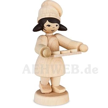 Bäckermädchen mit Tablett natur von Ulmik