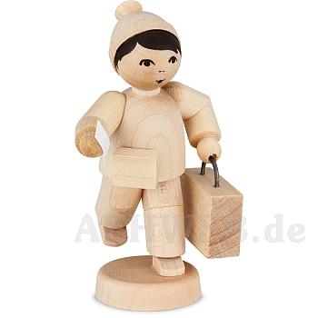 Junge mit Koffer natur von Ulmik