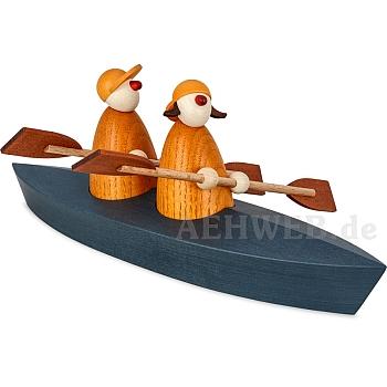 Bootspartie Zweier gelb