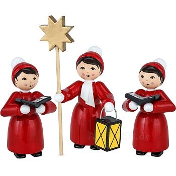 Weihnachtsmarktkurrende rot lackiert von Ulmik