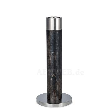Stelenleuchter schwarz 17 cm