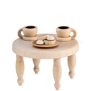 Kaffeekränzchen Kaffeetisch natur von Ulmik