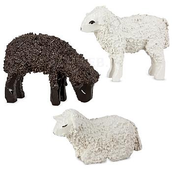 Drei Schafe lackiert von Ulmik