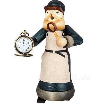 Räuchermann Uhrmacher gebeizt von Ulmik