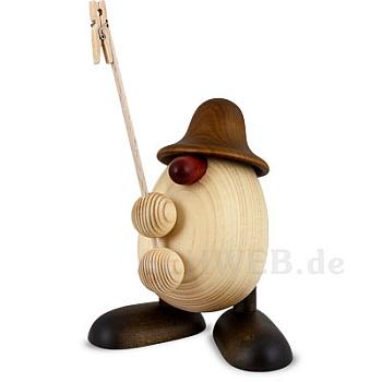 Eierkopf Willi Zettelhalter braun