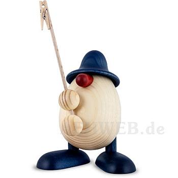 Eierkopf Willi Zettelhalter blau