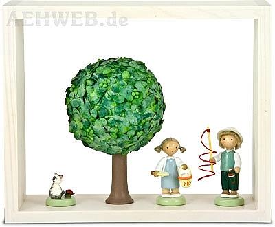 schatzk stchen apfelbaum im sommer von flade. Black Bedroom Furniture Sets. Home Design Ideas