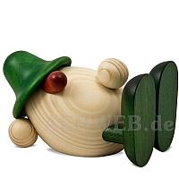 Eierkopf Oskar liegend grün