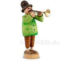 Musiker mit Trompete
