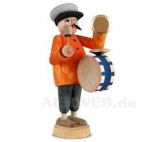 Musiker mit Trommel