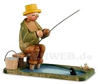Angler am Teich