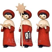 Kardinalrote Kurrende 7 cm
