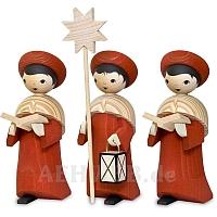 Kardinalrote Kurrende 13 cm