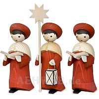 Kardinalrote Kurrende 22 cm