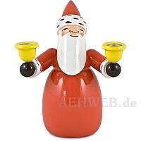 Weihnachtsmann mit Lichtertüllen