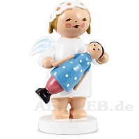 Margeritenengel mit Puppe